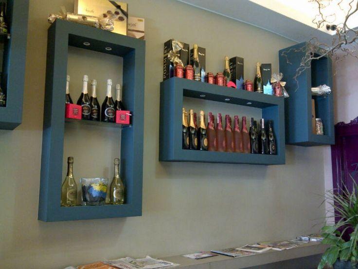 idee originali per realizzare mensole di cartongesso in cucina  Casa  Pinterest  Cartongesso ...