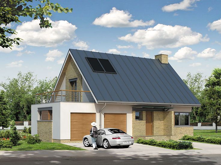 Projekt domu MT Kawka 4 - DOM ST1-95 - gotowy projekt domu