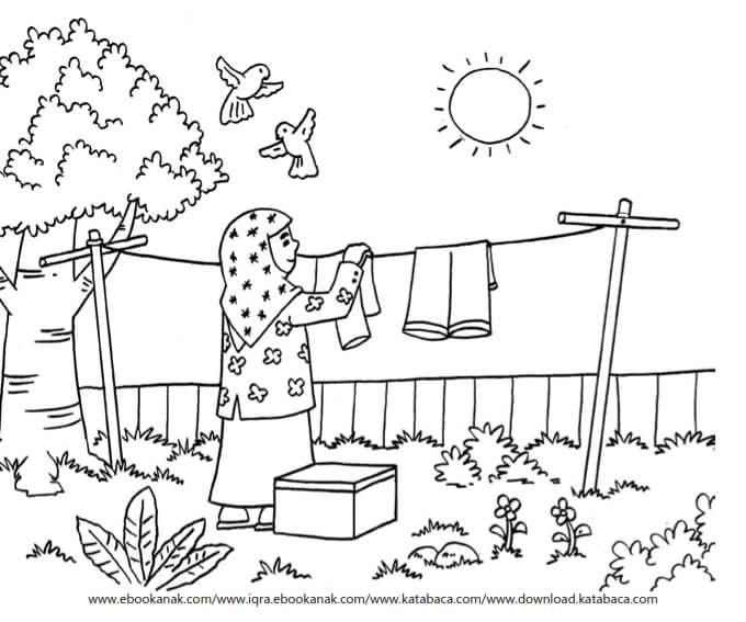 Gambar Mewarnai Asmaul Husna 56 Manfaat Sinar Matahari Ebook