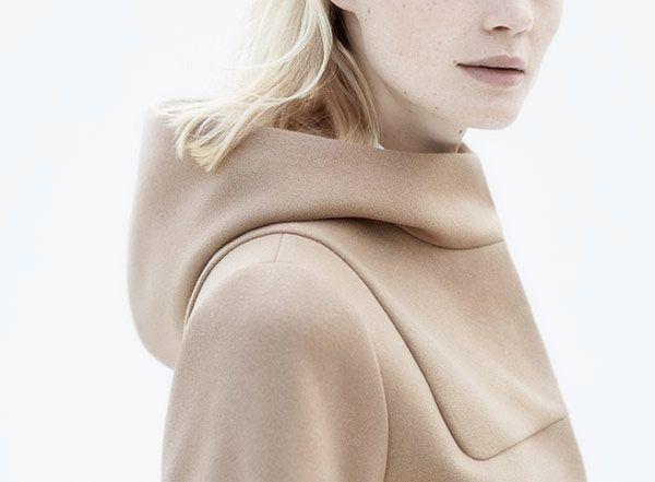 Fashion we like / Jacket / Winter / Minimal Details / Beige / at loveminimalstyle:  COS