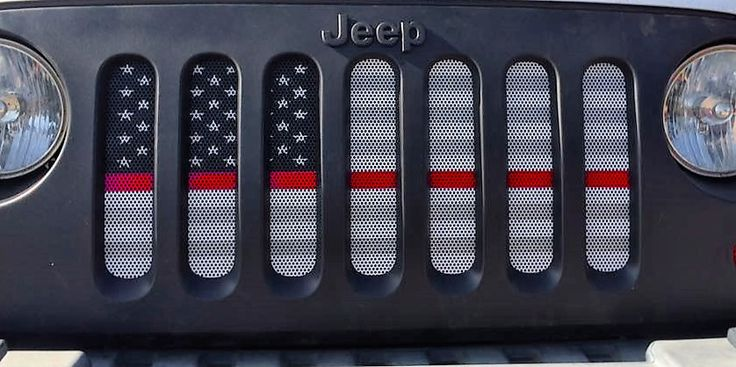 NEW to JeepWorld.com! American Ghost Tactical Grille Insert from Dirty Acres. Keep your Jeep safe from hazards that may cause damage your radiator. This grille insert takes little time to install, and requires no drilling for installation. Transform the look of your JK Wrangler!  For Jeep Wrangler JK & JKU, 2007-2017  Rust resistant perforated aluminum Radiator and engine compartment will receive proper airflow, while enhancing the personalization of your Jeep.