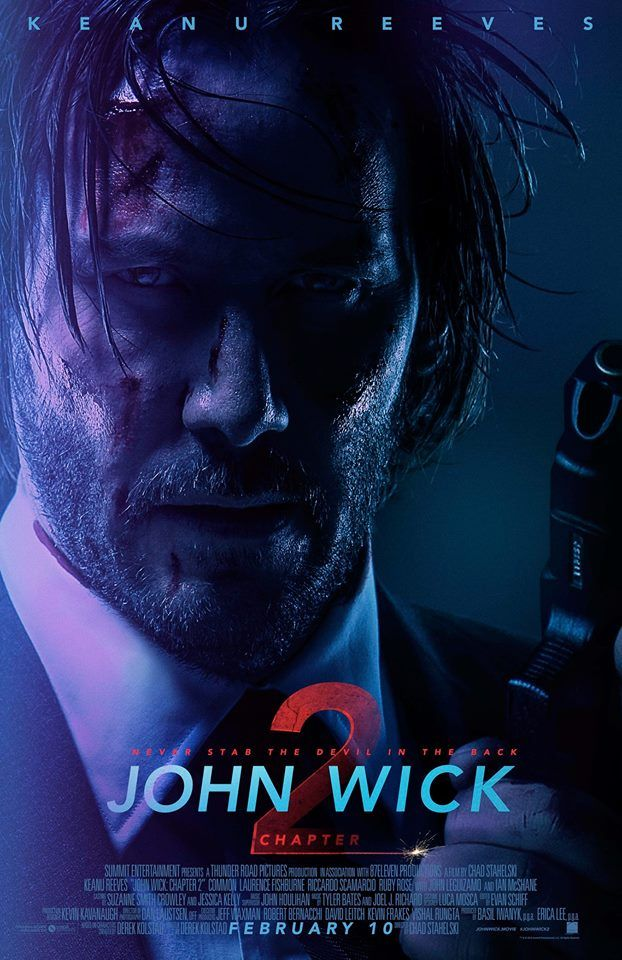 This February, Wick goes off. Don't miss #JohnWick2 in theaters February 10.