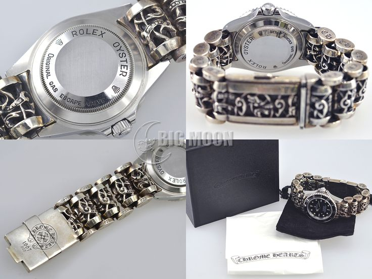 Used ROLEX Sea-Dweller 16600 Y chromehearts bracelet