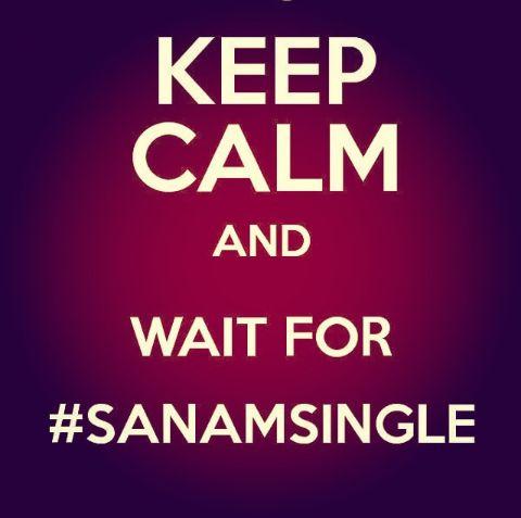 Something I always wait for. #SANAMsingle #SANAMoriginal today ! ❤