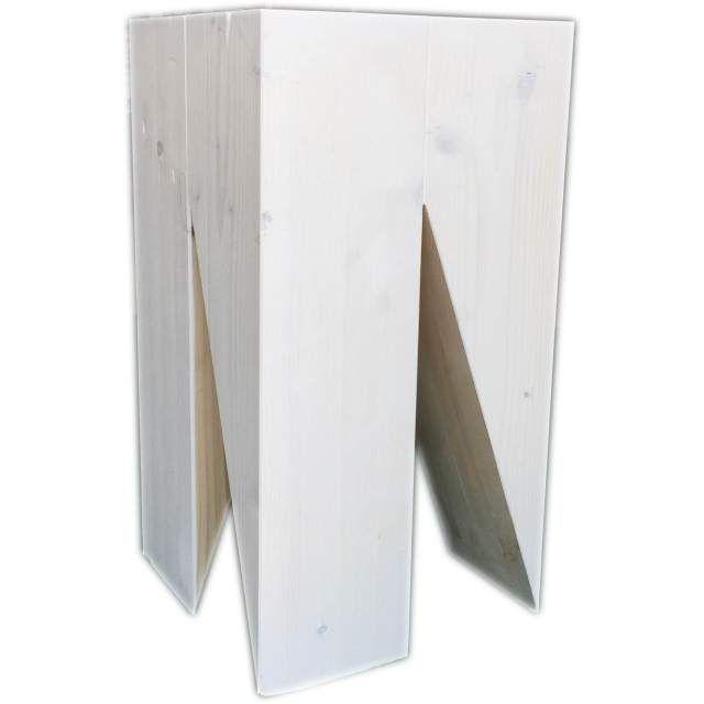 Pi di 25 fantastiche idee su sgabello in legno su for Sgabello bianco legno