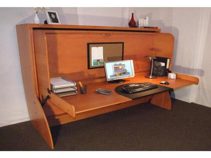 40 best murphy desk ideas images on pinterest architects haciendas and minimalist design - Comfortable beds for small spaces minimalist ...