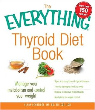 """Young Homemakers: Book Review of """"The Everything Thyroid Diet Book"""". I need to look into this."""