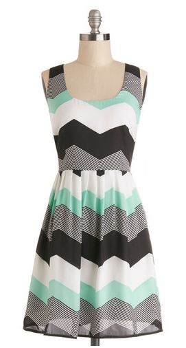 Chillin' in Chi-Town Dress in Mint