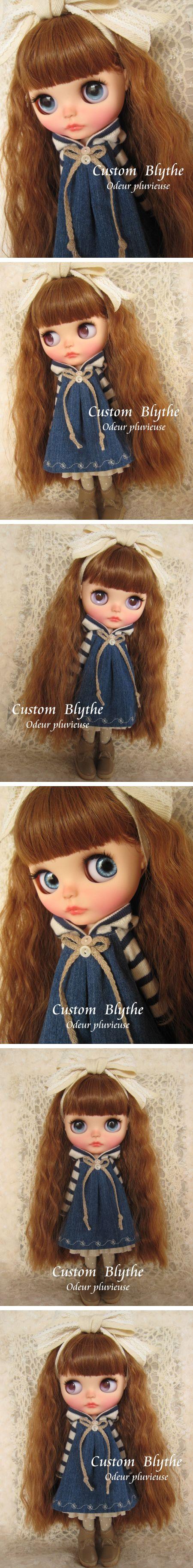 Custom Blythe Dolls: Odeur Pluvieuse Custom Blythe - A Rinkya Blog