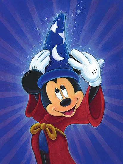 Disney Fine Art - Magic is in the Air Mickey. by Bret Iwan the 4th official  voice of Mickey Mouse.  dfece051f04