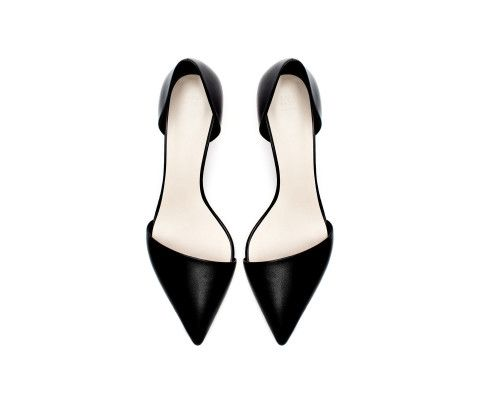 KITTEN HEEL POINTED SHOES - Shoes - Woman   ZARA United States
