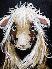 Moutonne  7'' x 5''