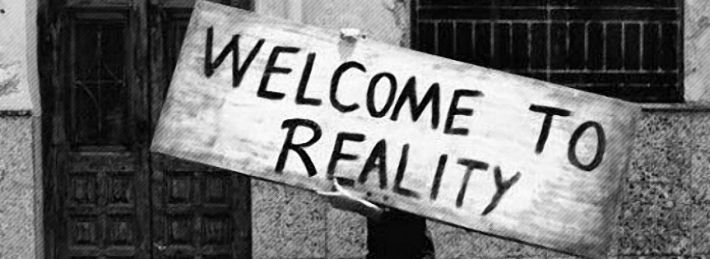 Welcome To Reality - Facebook Cover