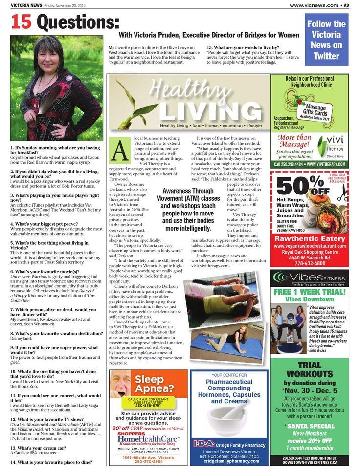 Victoria News, November 20, 2015  November 20, 2015 edition of the Victoria News