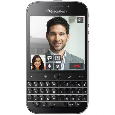 Blackberry Q20 Classic 4G mobiltelefon, Kártyafüggetlen, 16 GB, Fekete