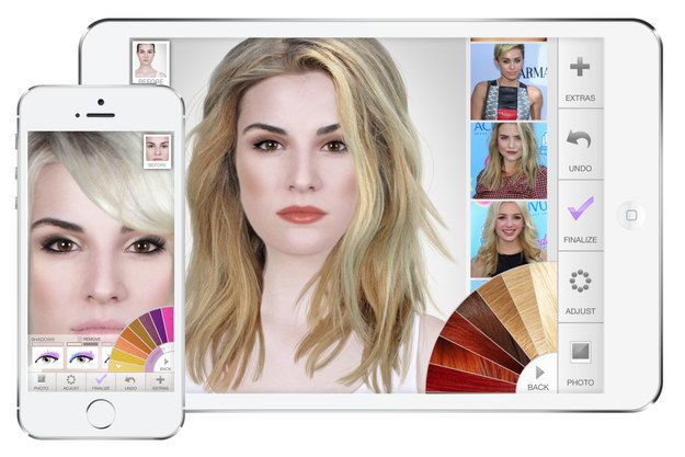 ModiFace is the most popular digital makeover app that lets you try out different looks.