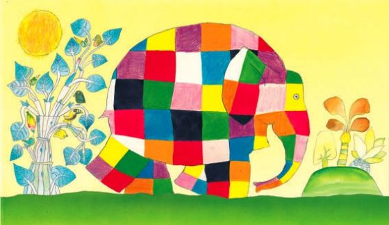 Elmer the Elephant- a champion for individuality
