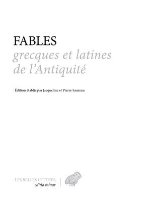 Fables Grecques Et Latines De L Antiquite Fable Danse Latine Grece
