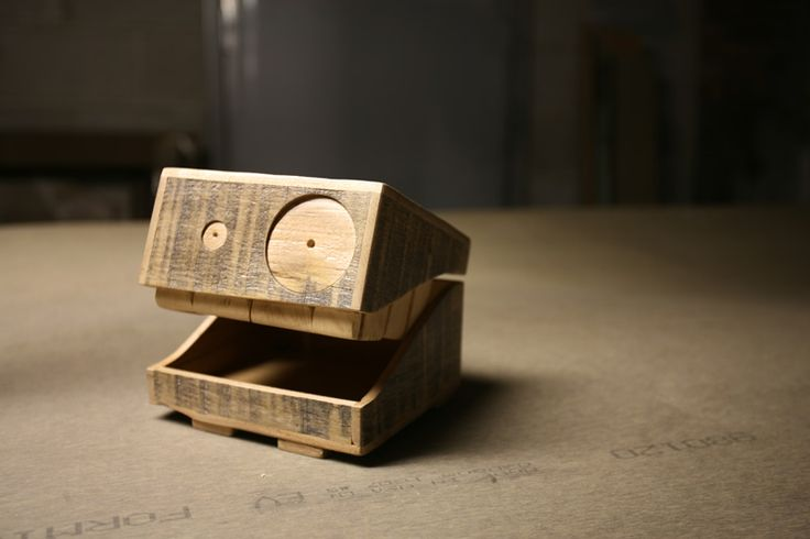 Absolutely obsessed with these, reclaimed wood monster box. Eric Grimes