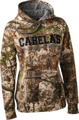 Stay warm and concealed with Cabela's Women's ColorPhase Hunt Hoodie.