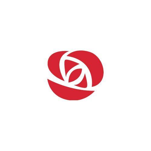 Rose Logo Google Trsene Logo设计 Logos Graphic Design