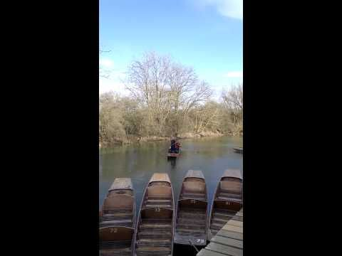 Punting at Cherwell boat house bike tour Oxford nights out