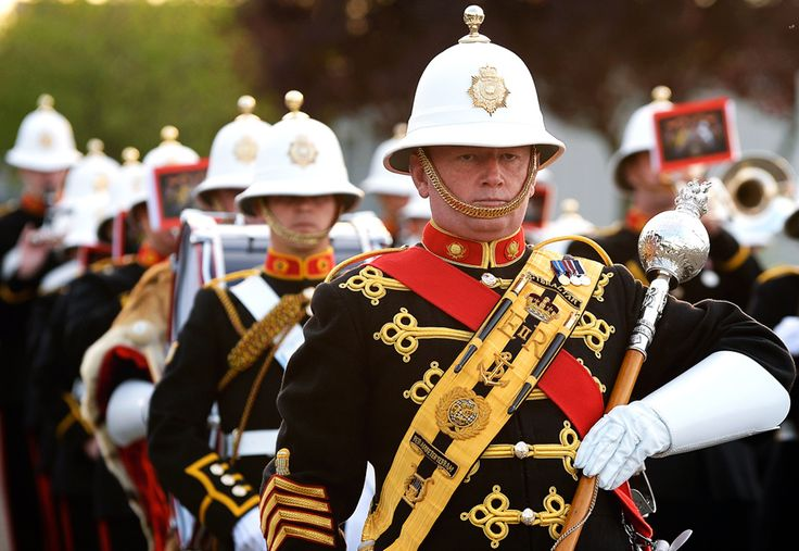 Band of the Royal Marines. I would very much like to see one of their performances.