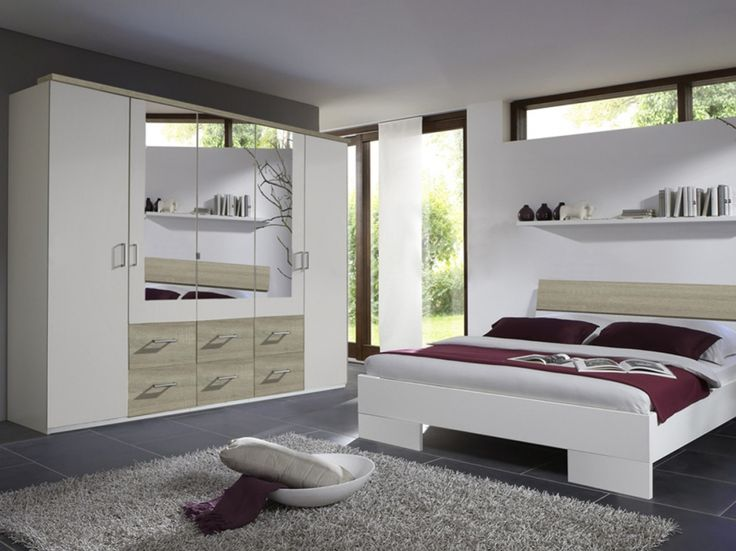 carolin dreht renschrank weiss eiche s gerau schlafzimmer. Black Bedroom Furniture Sets. Home Design Ideas