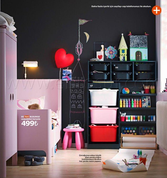 Ikea Kataloğu 2015: Güne Güzel Başlayın! Çocuk Odası