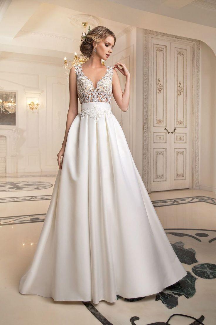 Свадебное платье «Налва» Татьяны Каплун— купить в Москве платье Налва из коллекции Примавера 2017 года