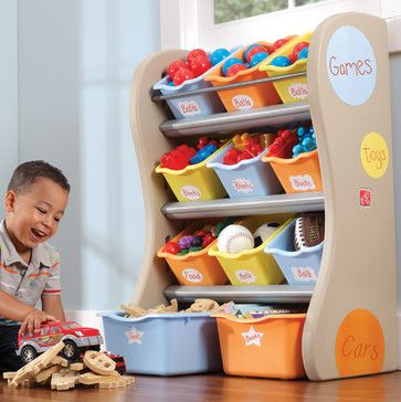 Step 2 Multi-Bin Organiser in Tropical - contemporary - Toy Storage - Other Metro - Toys R Us