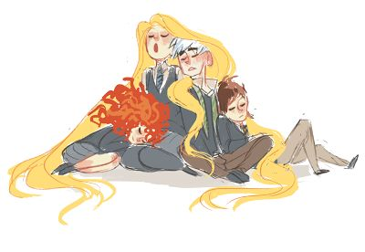 The Big Four - Confusions In Hogwarts, capítulo 9   Nyah! Fanfiction