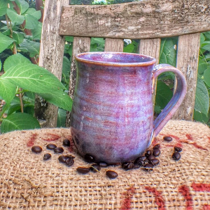 The perfect companion to 1818 Farms' Signature Coffee, this large handled mug is both beautiful and practical. Available in 8 colors. Dishwasher safe. Microwave safe.