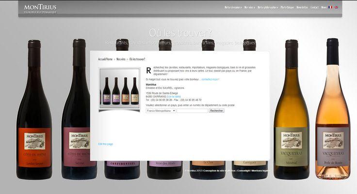 Création d'un site web pour un Domaine viticole | Com On Light, agence conseil en communication responsable