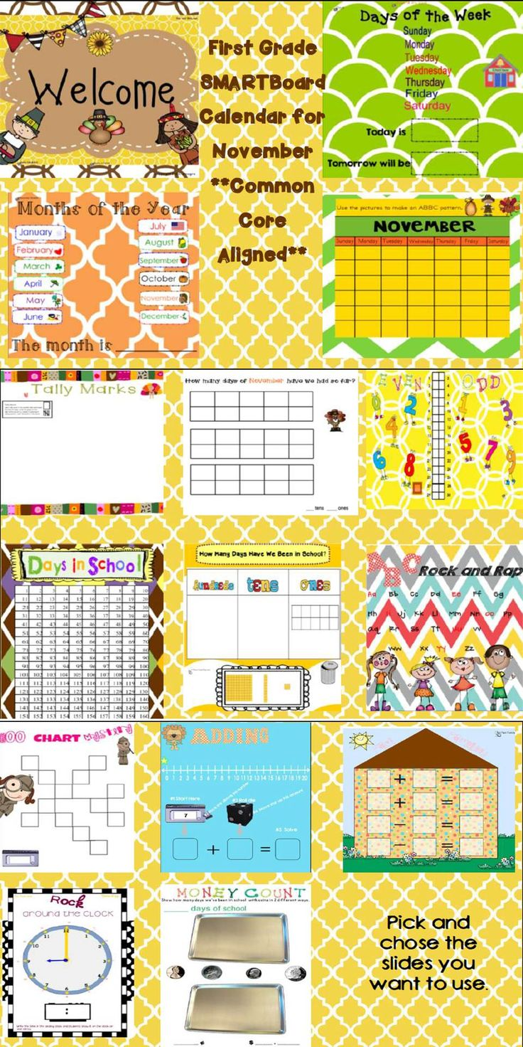 Kindergarten Calendar Time Common Core : Best first grade calendar ideas on pinterest