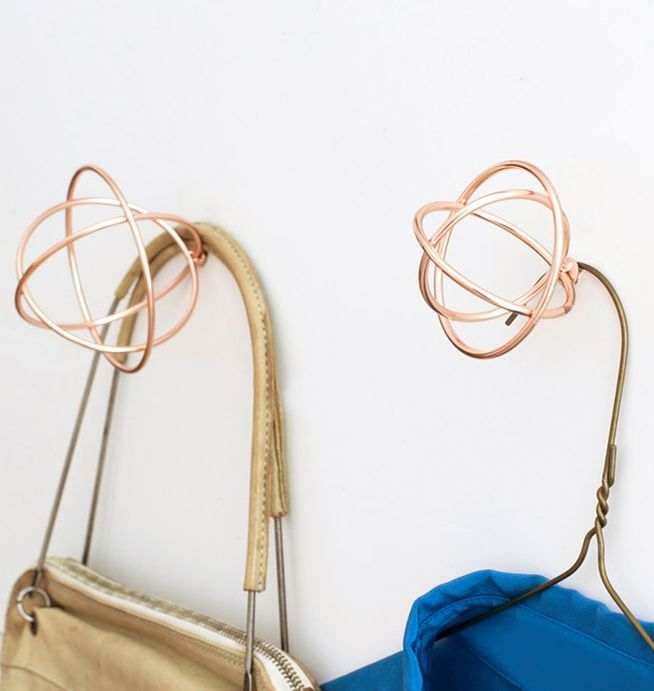 Copper Atomic Wall Hook  £10.00–£12.50  Out of this world! A funky wall hook in the shape of the classic atomic symbol!