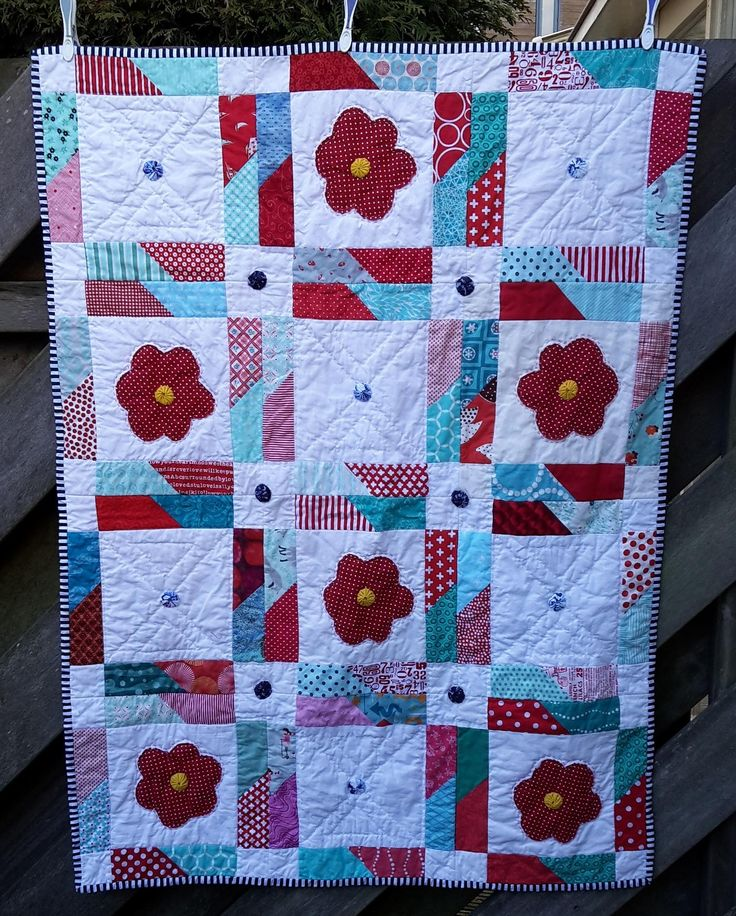 https://flic.kr/p/EggCqo   16 Top Jagged Little Pill finished A   Another finished quilt. made with blocks I received from #beehiveswarmsiobhan