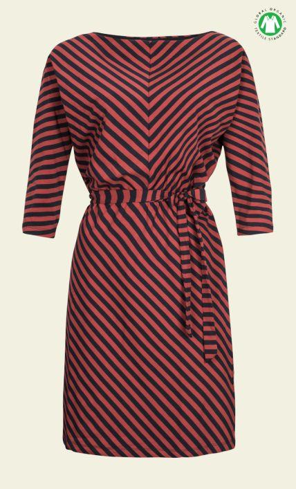 King Louie - Missy Dress Two Tone Stripe