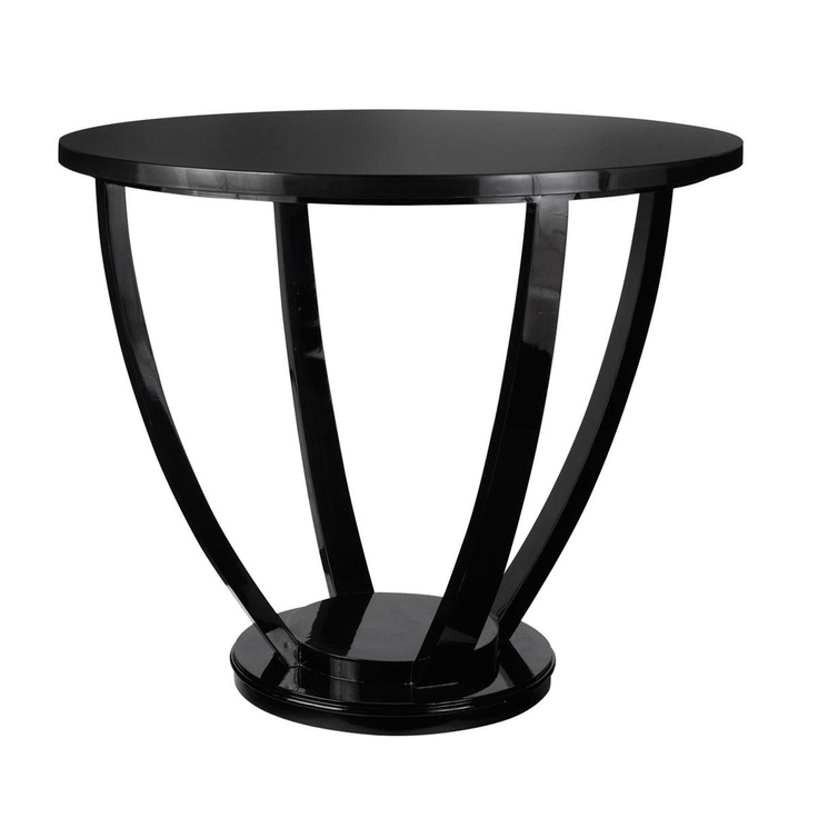 Small Black Dining Table And 4 Chairs Round Kitchen Table: Round Lexington Dining Table, Small