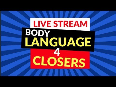 How to Read Body Language and Influence Others Live Sales Training!