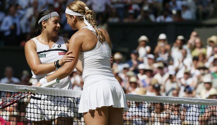 FOTOS: el festejo de Marion Bartoli y las lágrimas de Sabine Lisicki en la final de Wimbledon