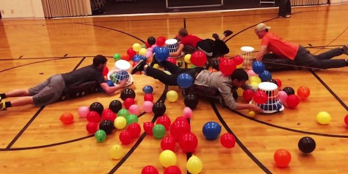 Human 'Hungry Hungry Hippos' Looks Like The Most Fun Game Ever (Video)