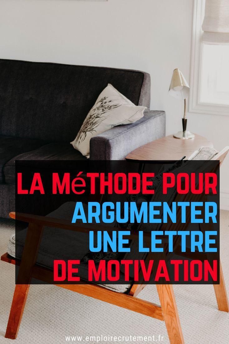 Comment Argumenter Une Lettre De Motivation Emploi Recrutement Lettre De Motivation Lettre De Motivation Emploi Motivation