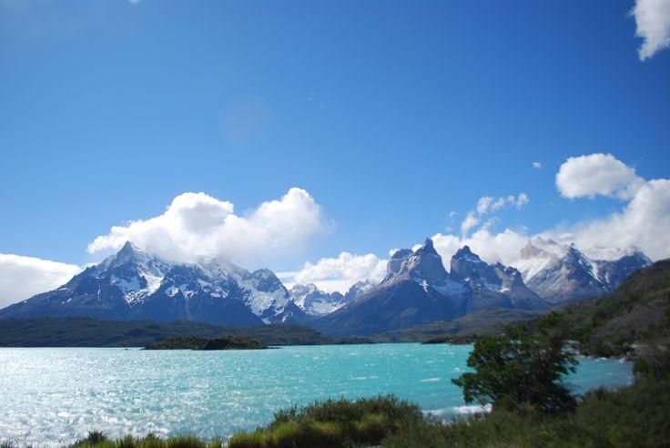 Lago en Torres del Paine