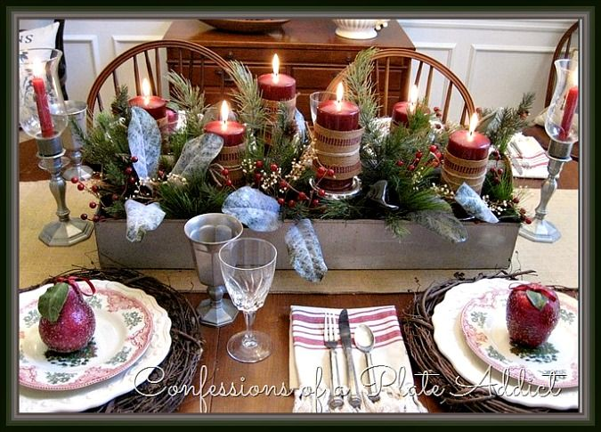 Vintage New England Style Tablescape How To Set A
