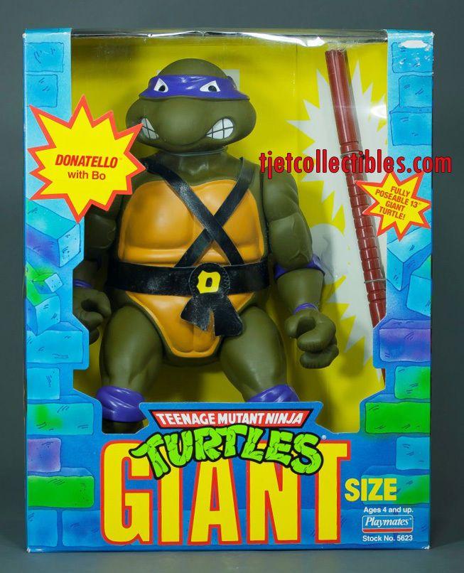 "Teenage Mutant Ninja Turtles Giant Size 13"" Donatello Action Figure 1989 #TeenageMutantNinjaTurtles"