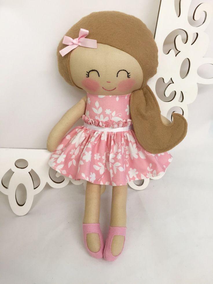 Fabric Doll Cloth Baby Doll Handmade Dolls Soft Doll