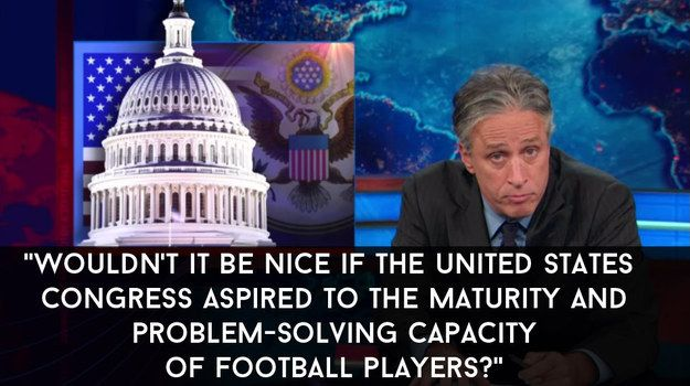 "He then followed it up with this. | 16 Times Jon Stewart Killed It On ""The Daily Show"""