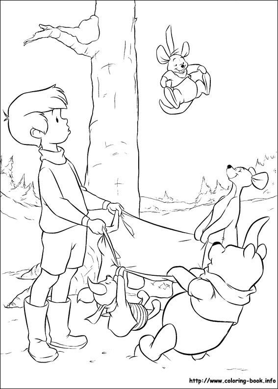 The 162 best Colouring for Children - Pooh images on Pinterest ...