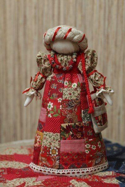 Лоскутная кукла